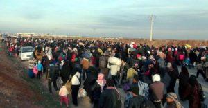 الأمم المتحدة: فرار أكثر من 800 ألف سوري بسبب هجوم تدعمه روسيا