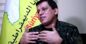 """قائد """"قسد"""": لاعودة بسوريا لما قبل2011 والإدارة الذاتية باتت واقعاً"""