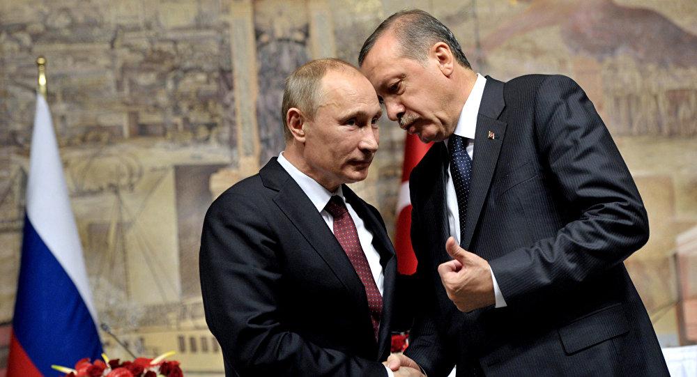 الرئيسان التركي والروسي يؤكدان أهمية تنفيذ اتفاق سوتشي